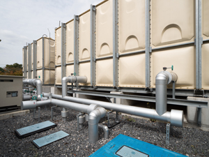貯水槽の設置・衛生対策はお済みですか?